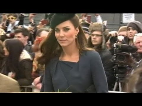Kate Middleton: Irish Soldier Faints Meeting Her at St. Patrick's Day Parade
