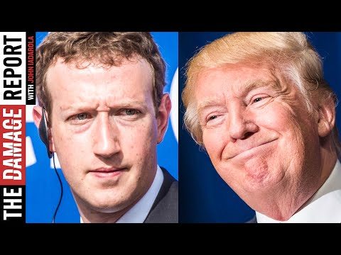 Zuckerberg CAUGHT Sneaking Around With Donald Trump