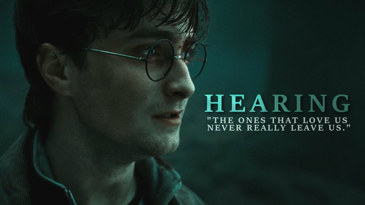 """Harry Potter • """"The ones that love us never really leave us."""""""