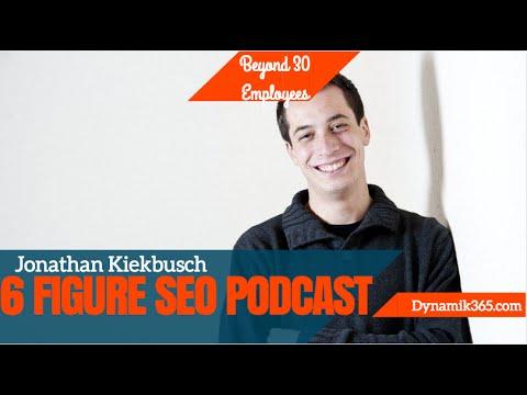 Jonathan Kiekbusch - 6 Figure SEO Podcast Interview - Start an SEO Business