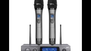 посылка из Китая AliExpress.Com  Часть 1 Беспроводные микрофоны Audio E220