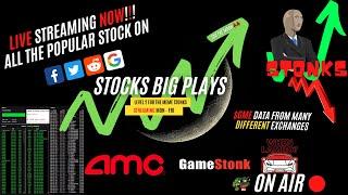 Hot Stocks Level2/DeepBook ($GME $SPY $PLTR $VIX & $AMC) Sep 24, 2021