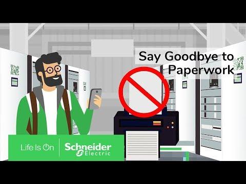 The Digital Logbook: Say Goodbye To Paperwork | Schneider Electric