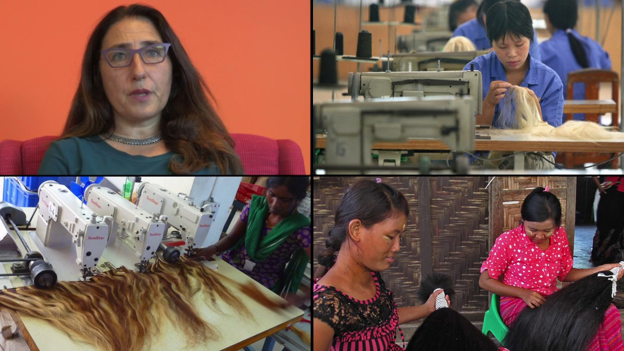 Where Your Hair Extensions Really Come From Bbc Stories Youtube