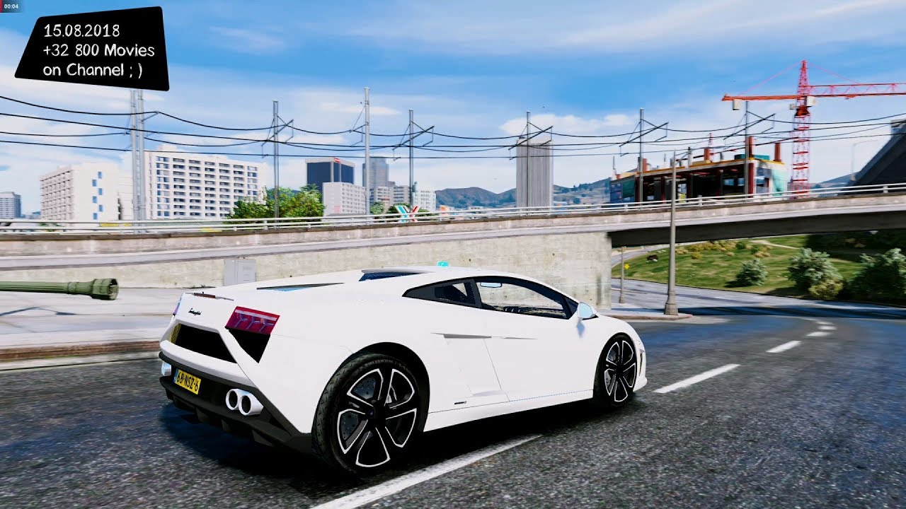 Lamborghini Gallardo Police Grand Theft Auto V Gta V I Go To 40k