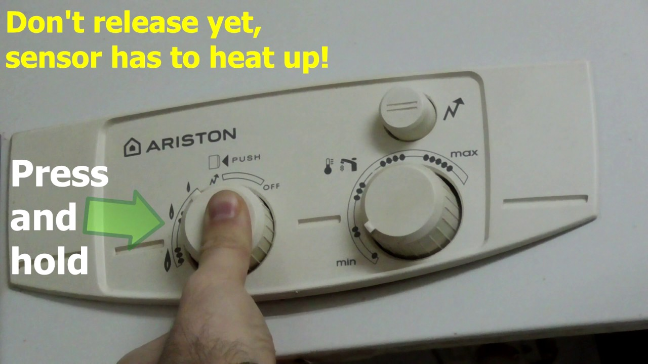 how to turn on pilot light on water heater