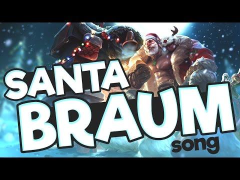 Instalok - Santa Braum (Drummer Boy PARODY)