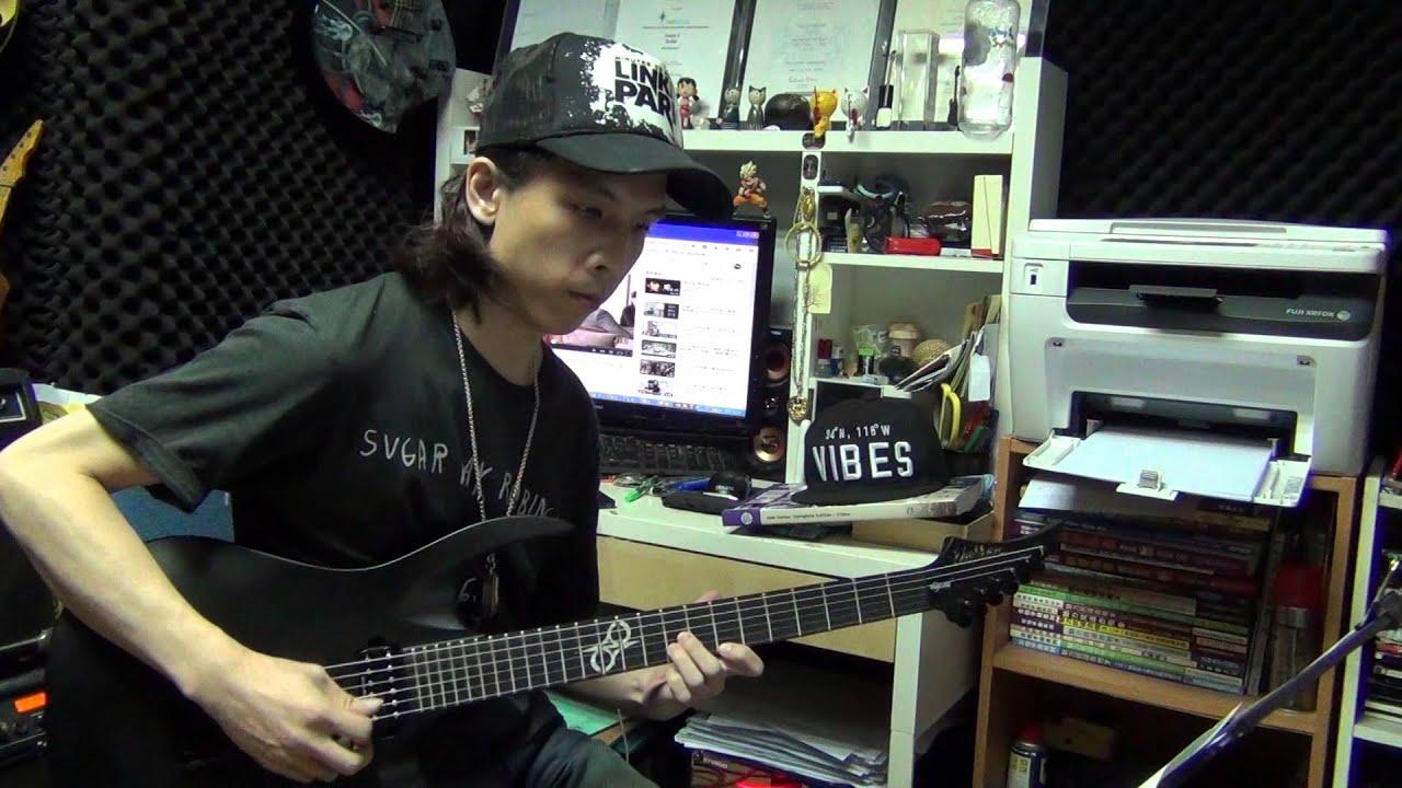 周杰倫- 聽見下雨的聲音 guitar cover by Eric Lo - YouTube