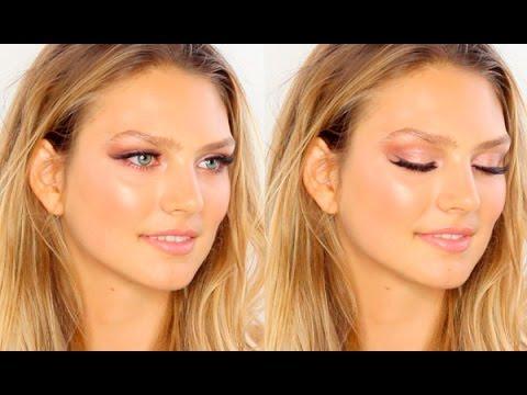 Видео, Victoria Secrets Show Angels Makeup