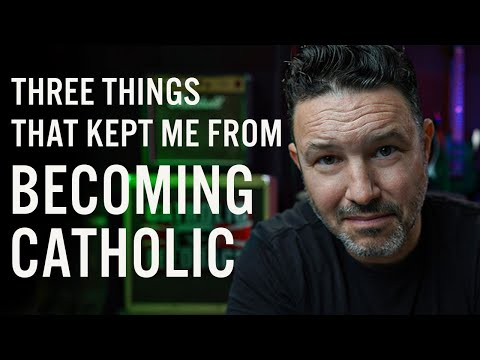 Former Protestant Pastor tells 3 things that kept him from converting to catholicism for so long