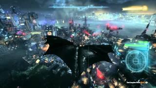 BATMAN™: ARKHAM KNIGHT free roam gameplay ps4