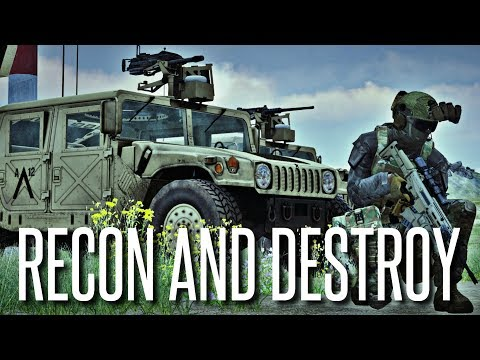 RECON AND DESTROY - ArmA 3 SquadGoals Operation