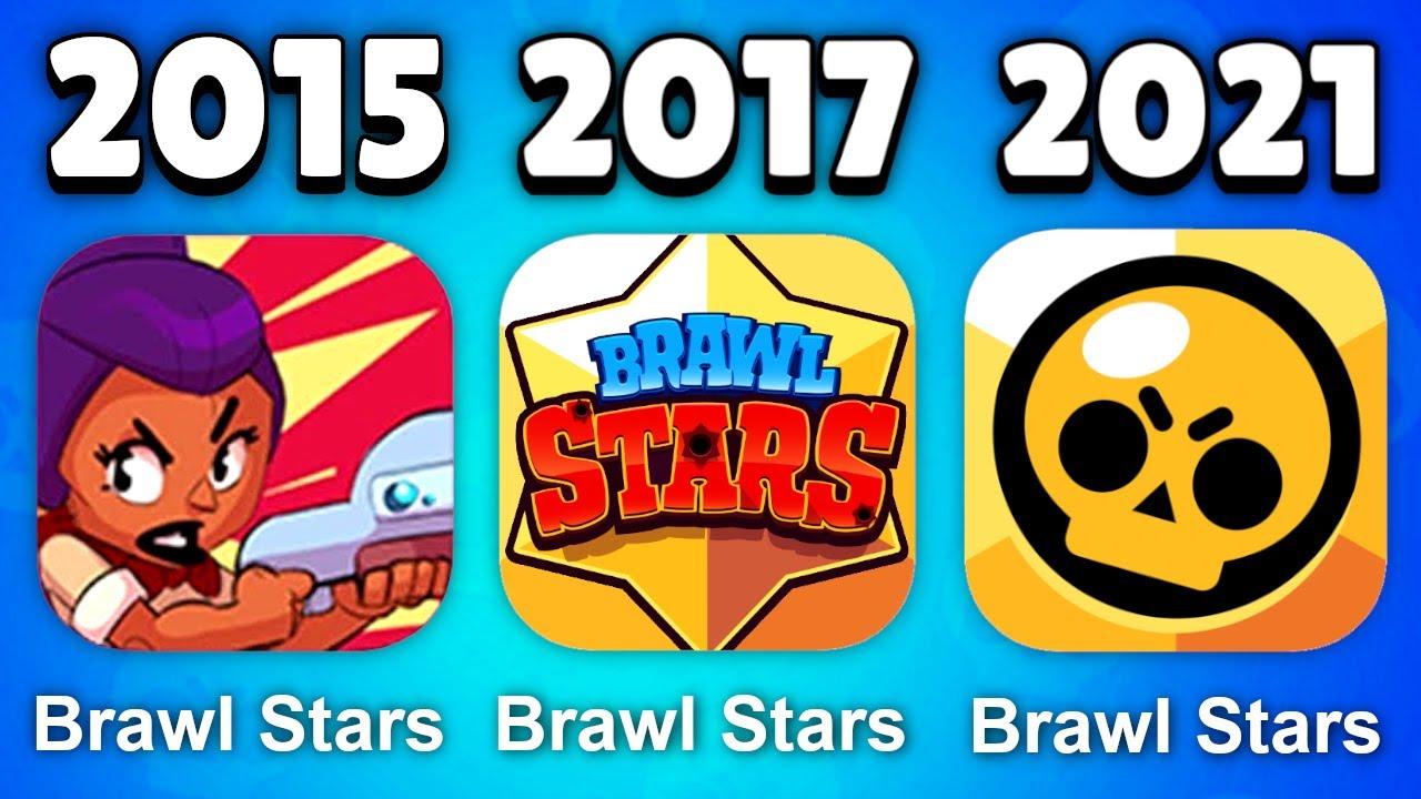 DIE ENTWICKLUNG VON BRAWL STARS 2015 - 2021 😱