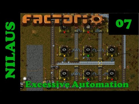 Factorio S8E07 - Wires, Belts and Inserters