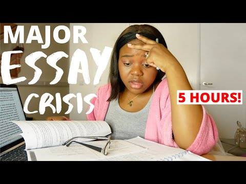 Writing 2,500 Words In 5 HOURS! - My Last Oxford Essay!