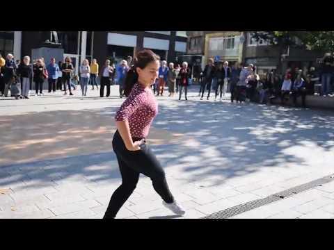 Syrian Flashmob in