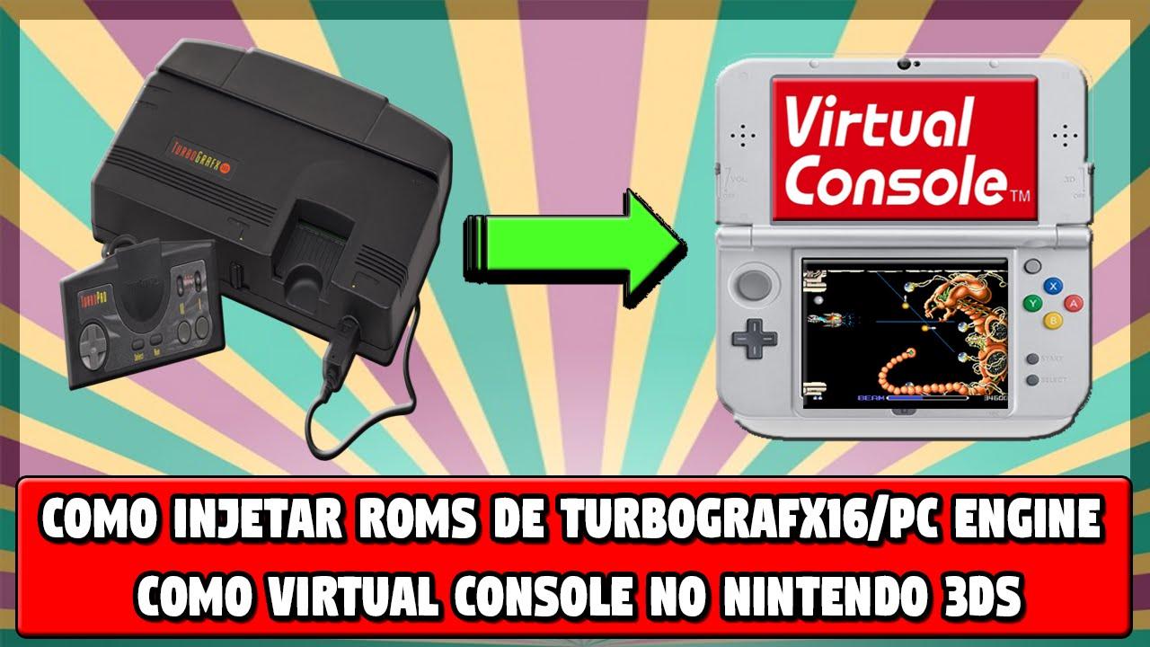 [3DS] Como injetar ROMs de TurboGrafx16/PC Engine como Virtual Console no  3DS (CFW)