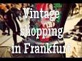Vintage shopping in Frankfurt