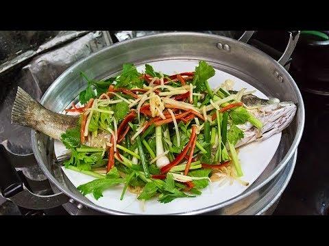 วิธีทำปลากะพงนึ่งซีอิ๊ว ง่ายกว่าที่คุณคิด อร่อยแน่นอน l อร่อยพุง #เฟิร์มอร่อยจากเม้น