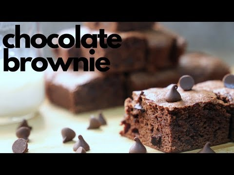 চকলেট ব্রাউনি | Chocolate Brownie Recipe | Fudge Brownie Recipe