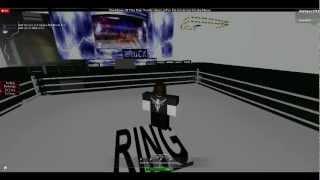 RWE World Wrestling Entertainment The Rock regresa al segmento completo Roblox