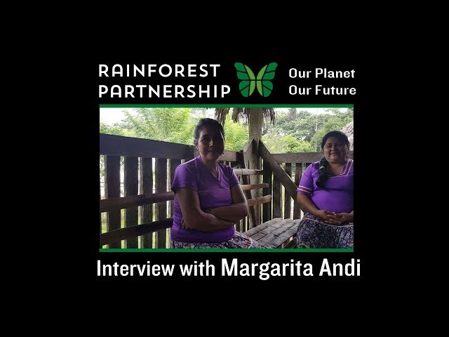 Interview with Margarita Andi, Project Lead of the Sani Warmi Project