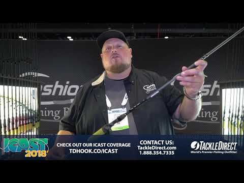 Cashion Rods Elite Rods At ICAST 2018