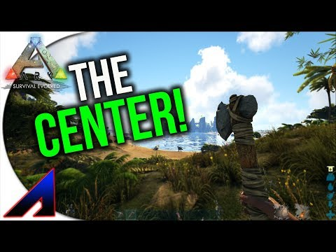 The Beach | Solo The Center PVP  | ARK: Survival Evolved | Ep1