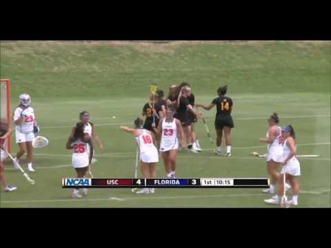Women's Lacrosse: NCAA Championship USC 15, Florida 12 - Highlights 5/14/17