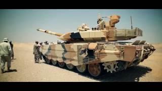 Танк Т-90МС в одной из арабских стран