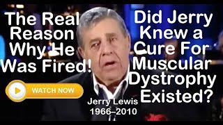 The Real Reason Why Jerry Lewis Was Fired