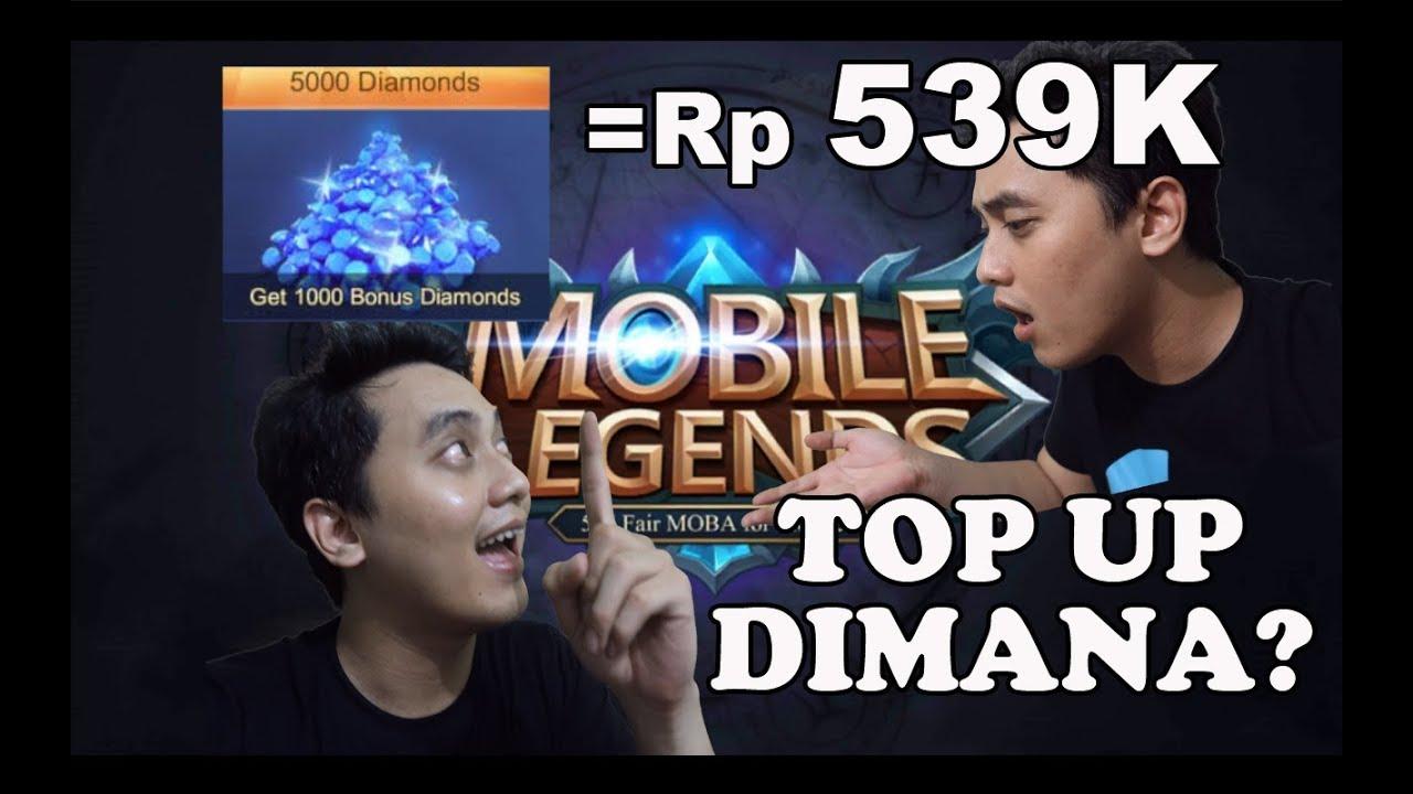 Gue Top Up Diamond Mobile Legend Disini Murah Banget Genks Youtube Skin Legends  Dan Aman