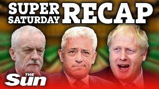 Super Saturday recap: PM's deal suffers massive blow