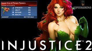 "My Favorite Legendary Gear In Injustice 2! - Injustice 2 ""Poison Ivy"" Legendary Gear Gameplay"