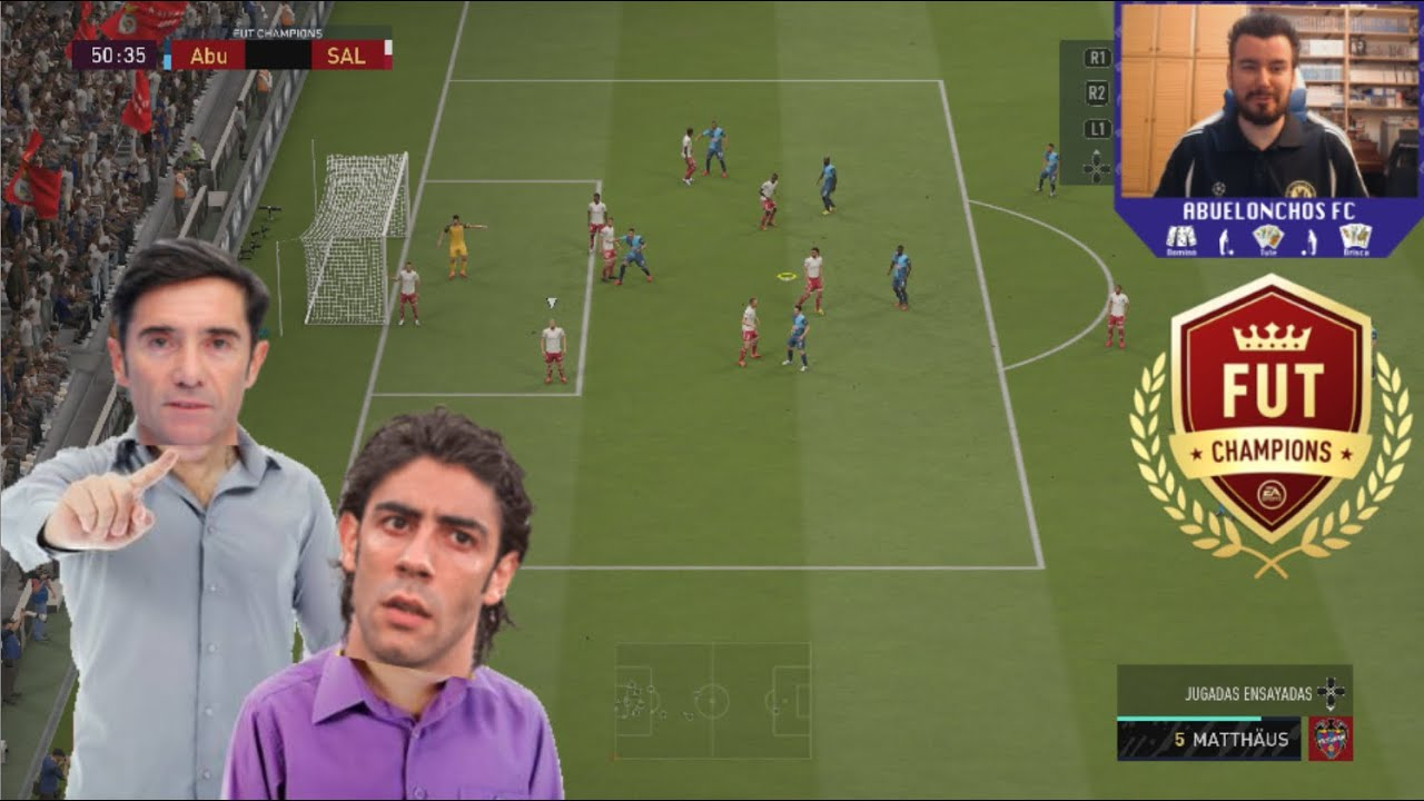 EL ENTRENADOR CASTIGA A RUI CUESTA || Resumen FUT Champions FIFA 20