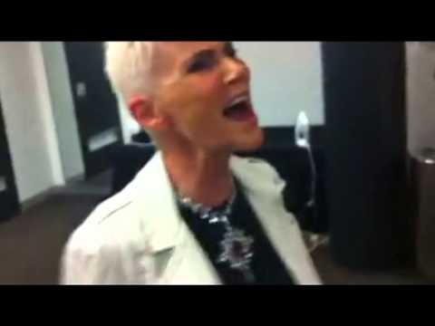 Marie Fredriksson - a set of lovely backstage moments