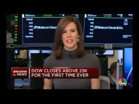 DOW Closes Above 23K | CNBC TV18