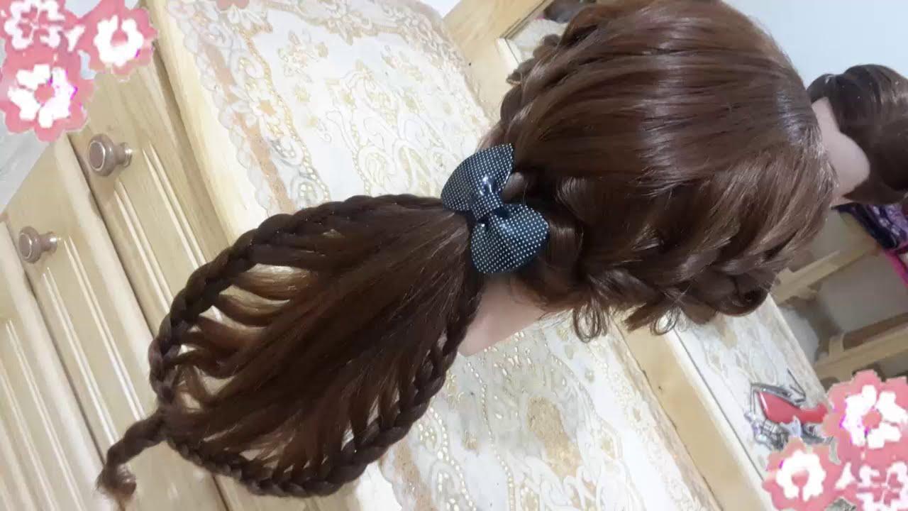 Peinados con trenzas para cabello largo faciles y bonitos - Peinados nina pelo largo ...