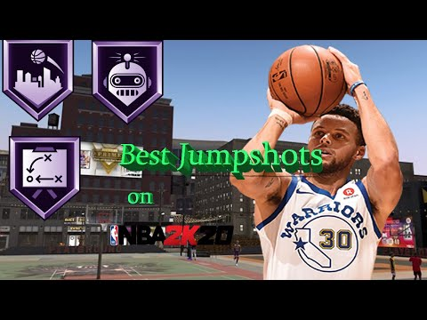 Best Jumpshots for Scoring Machines and Playmaking Shot Creators on NBA 2K20