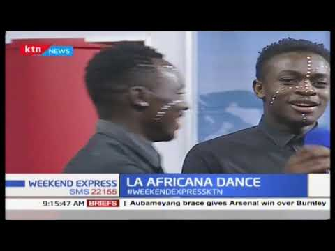 La Africana Dance crew  performance