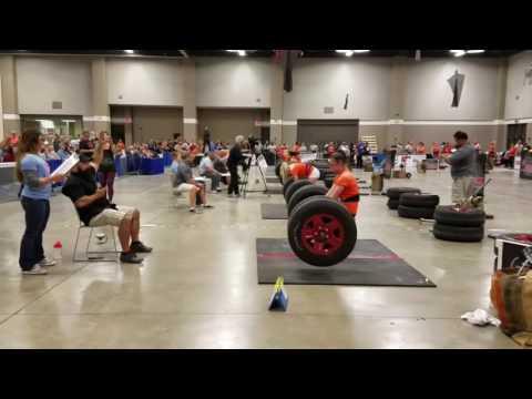 Jillian Funk Strongman Nationals 2016