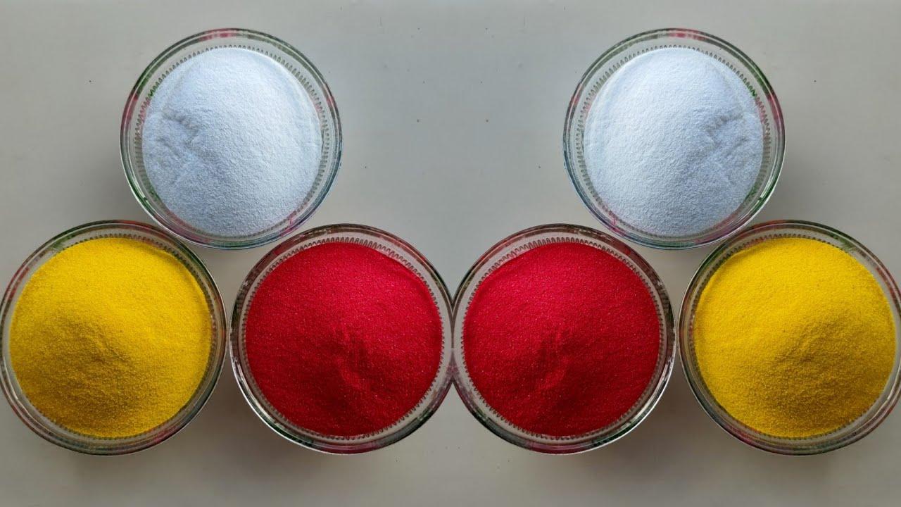 2 easy side diwali multi-coloured rangolis|| Navratri rangoli, Diwali Dhanteras Rangoli by Sangeeta