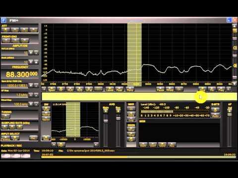 FM DX sporadic E in Holland: Algeria Radio El Tarf Oum Ali with bad modulation 88.3 MHz