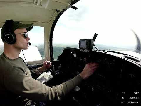 Skrydis EYKS - Metelys ežeras/Flight EYKS - lake Metelys