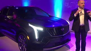 XT4 chief exterior designer, Robin Krieg on  Cadillac XT4 2019 car design Luxury and Sport models