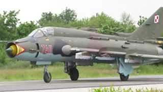 Su-22 Fitter Demo Flight, Volkel Airshow 2013