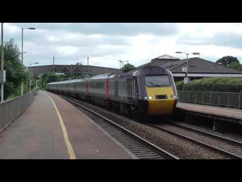 Trains at Tiverton Parkway 22 & 23/06/17