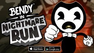 Bendy in Nightmare Run - Android/iOS Gameplay ᴴᴰ