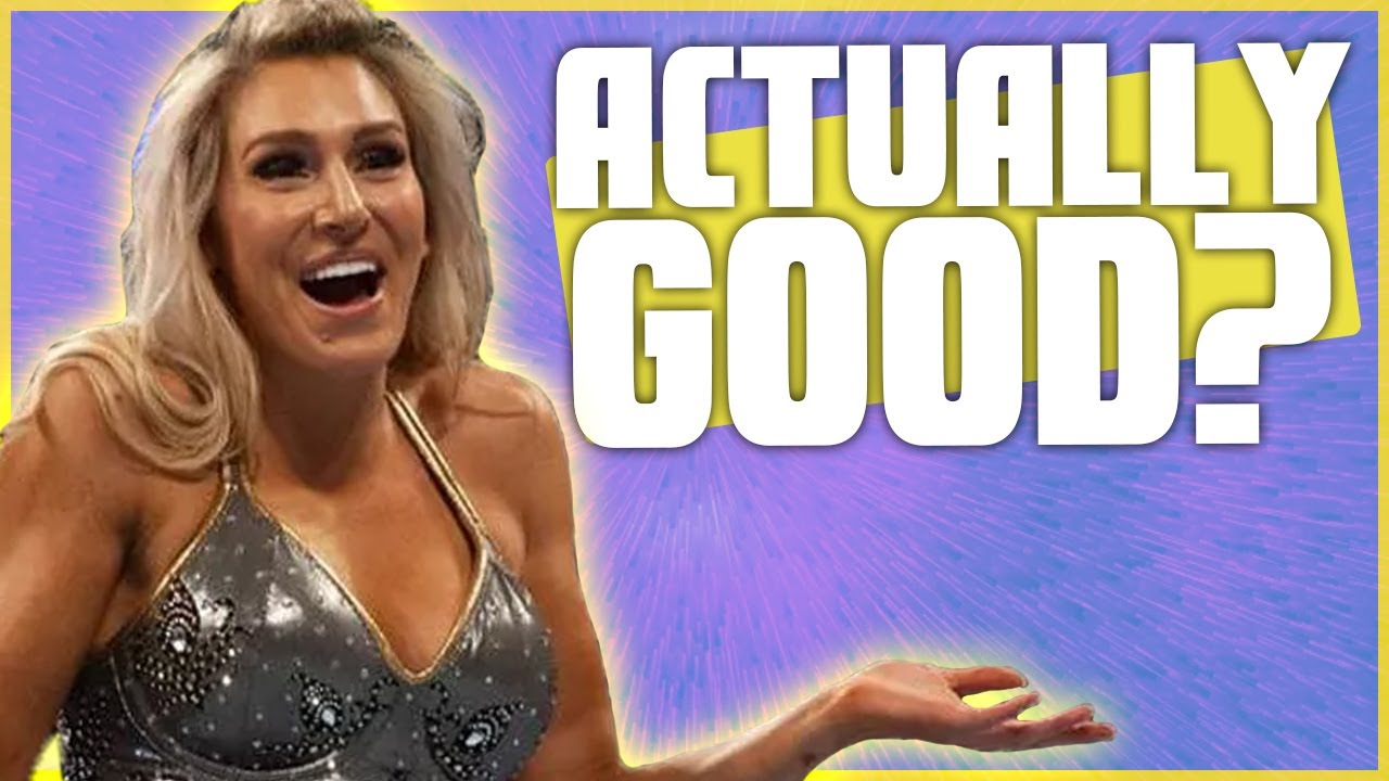 Is Charlotte Flair Actually Good?