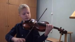 Урок концерт Вивальди ля минор
